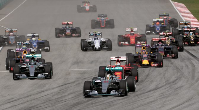 What happened to Formula 1?