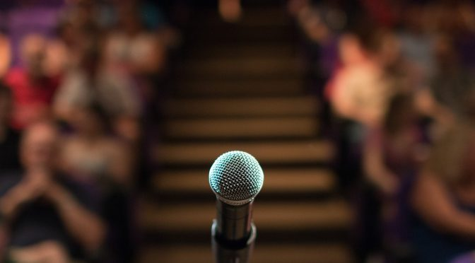 Stage fright and how to overcome it- A guide for a good presentation
